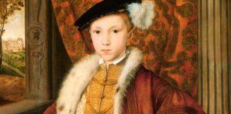 Edoardo VI, re d'Inghilterra e d'Irlanda, figlio di Enrico VIII