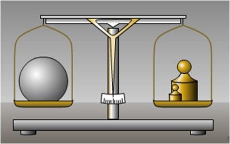 Come si misura la massa di un corpo