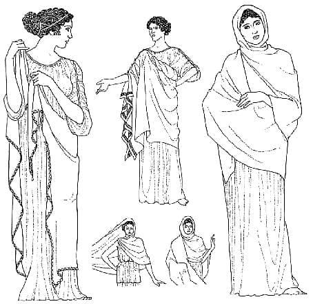 Abbigliamento nell'antica Grecia