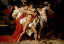 Le Furie nella mitologia romana o le Erinni nella mitologia greca