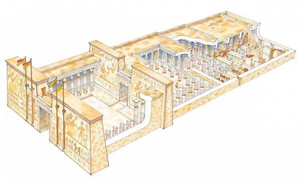 Il tempio nell'antico Egitto