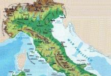 Italia fisica: descrizione dettagliata
