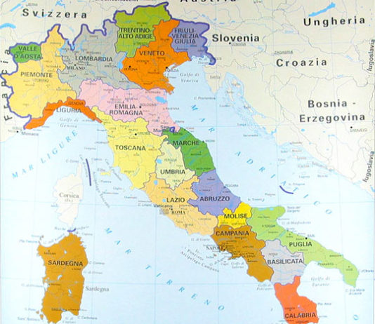 Regioni italiane: quante e quali sono, la suddivisione in Province e Comuni