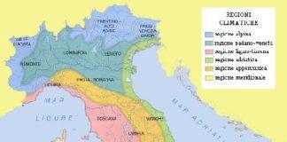 Regioni climatiche italiane: quali sono, caratteristiche