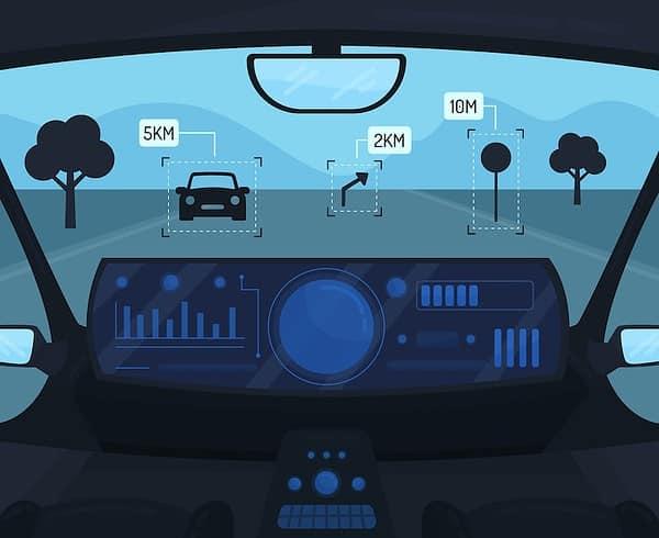 Il machine learning nell'auto a guida autonoma