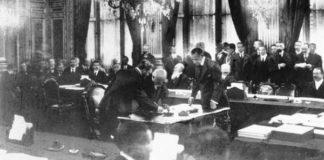 I Trattati di pace dopo la Prima guerra mondiale