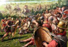 Bruto e Cassio e la battaglia di Filippi