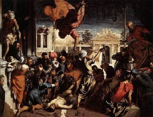 Tintoretto, Il miracolo dello schaivo