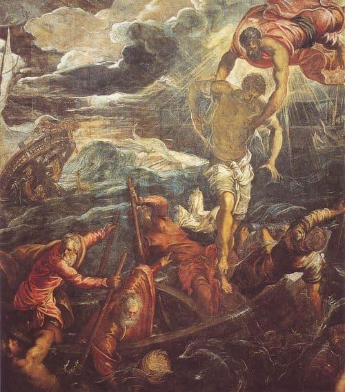 San Marco salva un Saraceno, 1562-1566