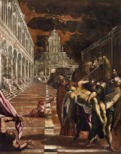 Tintoretto, Trafugamento del corpo di San Marco, 1562