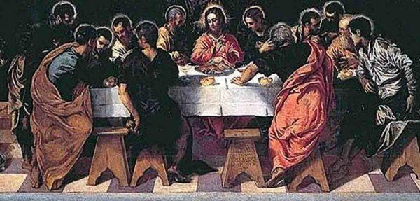 """Tintoretto """"Ultima cena"""", 1547 - Chiesa San Marcuola, Venezia"""