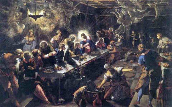 Tintoretto, Ultima cena, 1592