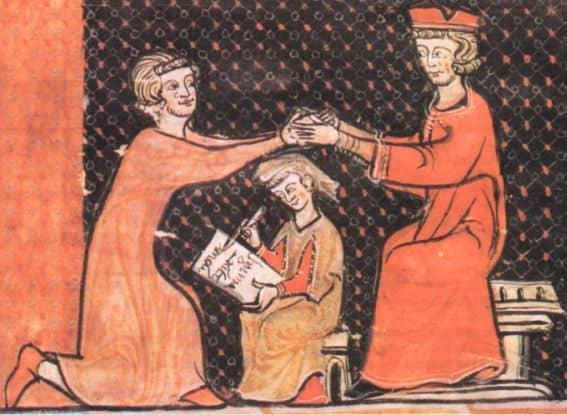 Constitutio de feudis sancisce l'ereditarietà dei feudi minori