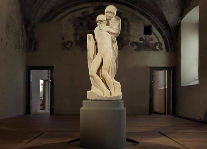 Pietà Rondanini, di Michelangelo