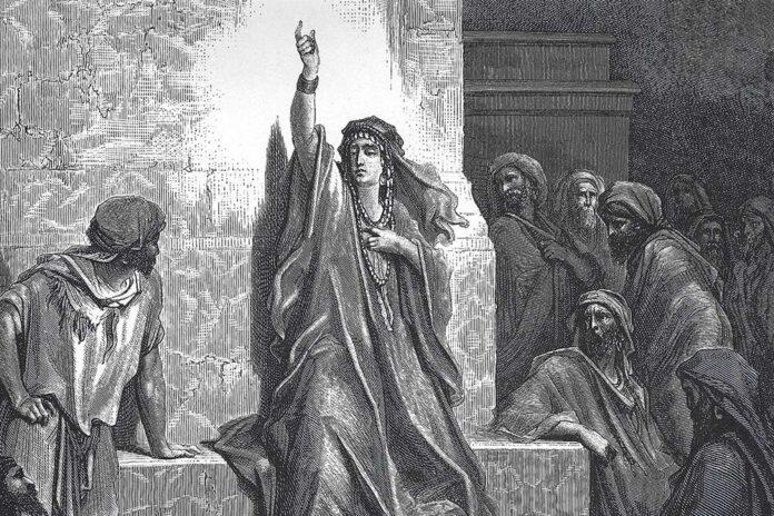 Debora, l'unica giudice donna nella Bibbia