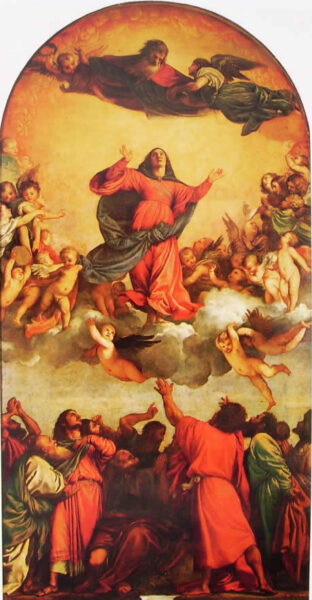 Tiziano, Assunta