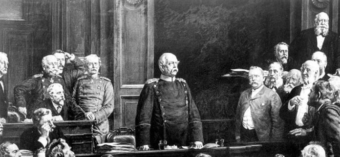 Unificazione tedesca del 1871 per opera di Bismarck