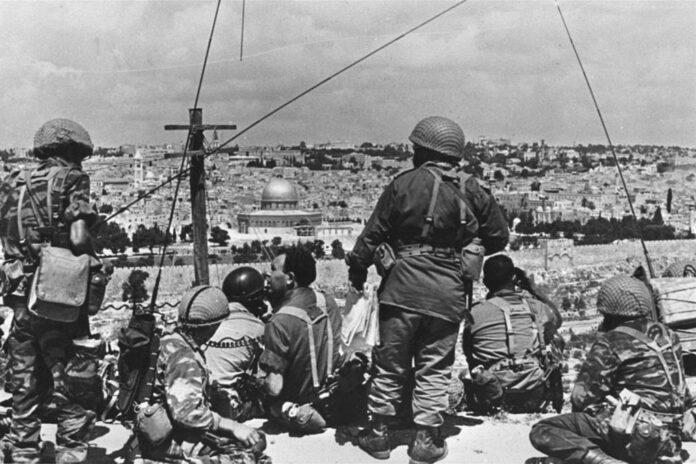 guerra dei sei giorni, 1967: riassunto