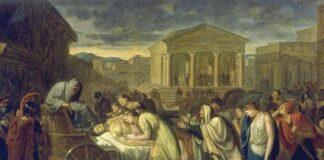 i funerali di ettore