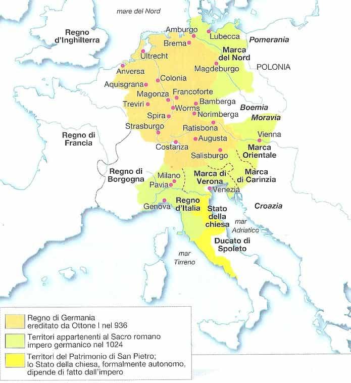 sacro romano impero germanico