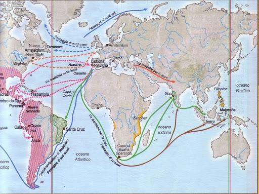 scoperte geografiche